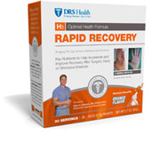 H3 RAPID RECOVERY for acclerated and improved healing...