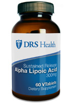 Sustained Release Alpha Lipoic Acid 300mg (60 VTabs)